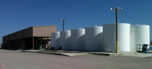 oil field construction - tank farm